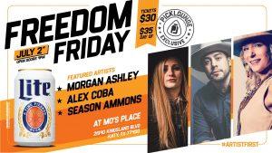 Freedom Friday - Sundance Head/ Bri Bagwell/ Season Ammons & More!!! @ Mo's Place