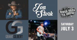 Jon Stork with Grant Gilbert @ River Road Icehouse