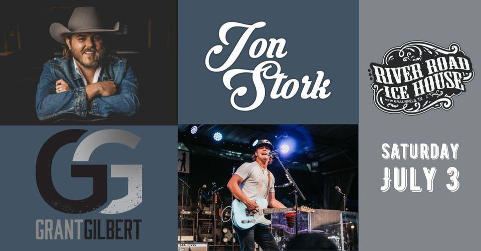 Jon Stork with Grant Gilbert