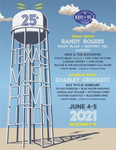 Texas Music Revolution 25 @ Historic Downtown McKinney