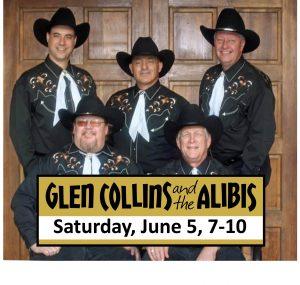 Sixth Street Bourbon Presents Glen Collis and the Alibis @ Dimebox Distillery