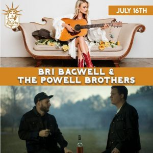 Bri Bagwell and The Powell Brothers @ The Liberty