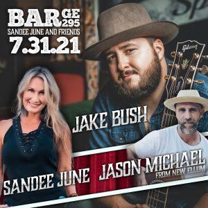 Jake Bush/ Sandee June and Jason Michael @ Barge 295